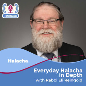 Everyday Halacha in Depth